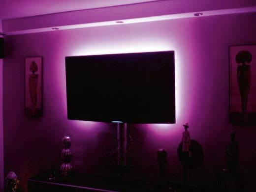 Kit LED-lichtslang kleur met afstandsbediening 2 X 50 cm