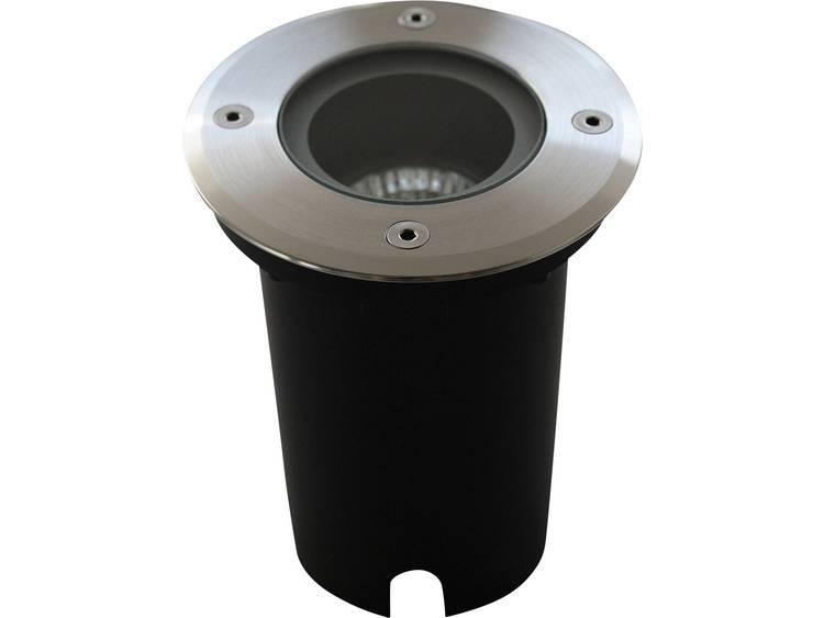 Inbouw buitenlamp Halogeen 35 W ECO-Light 7005 A GU10 Zilver