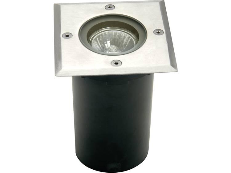 Inbouw buitenlamp GU10 Halogeen 35 W ECO-Light 7005 B-GU10 Zilver