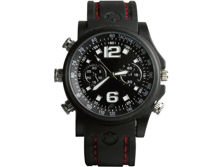 Gecamoufleerde bewakingscamera in horloge met opnamefunctie Technaxx 3233