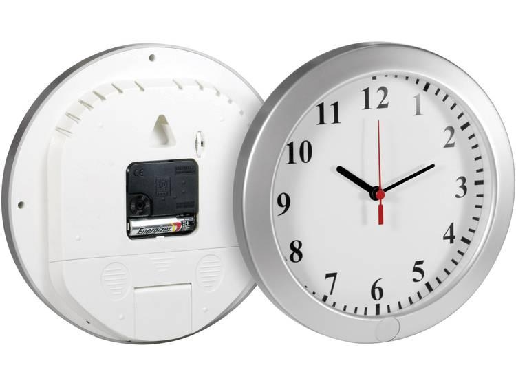 Gecamoufleerde bewakingscamera in klok met opnamefunctie, met geheugenkaartslot Technaxx 4218