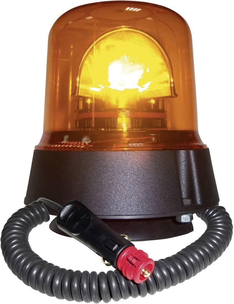 Image of AJ.BA Zwaailicht GL.02 12 V, 24 V werkt op boordnet Zuignap, Magneetbevestiging Oranje
