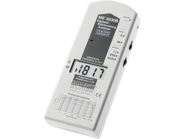 Gigahertz Solutions ME 3830B  meter 16 Hz 100 kHz 2dB volgens de normen va