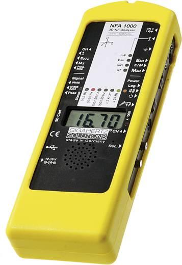 Gigahertz Solutions NFA1000 3D-NF-analyser met volledige uitrusting, Laagfrequent (LF)-analyseapparaat, elektrosmogmeetapparaat, 5 Hz - 1000 kHz
