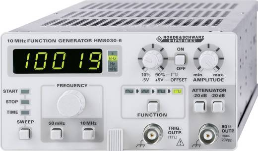 Rohde & Schwarz HM8030-6 Functiegenerator-module 0.05 Hz - 5 MHzSignaaluitgangsvorm(e