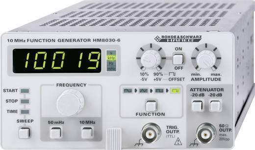 Rohde & Schwarz HM8030-6 Functiegenerator-module 0.05 Hz - 5 MHzSignaaluitgangsvorm(en) Sinus, driehoek, rechthoek, puls, DC
