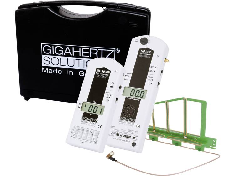 Gigahertz Solutions MK20 Elektrosmog Meetkoffer Set Netzstrom bis Handy Das mei