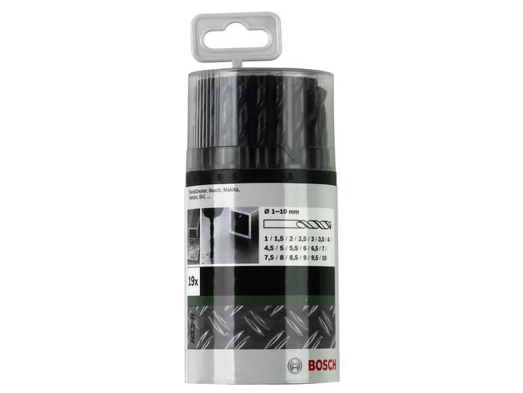 HSS Metaal-spiraalboorset 19-delig Bosch 2609255033