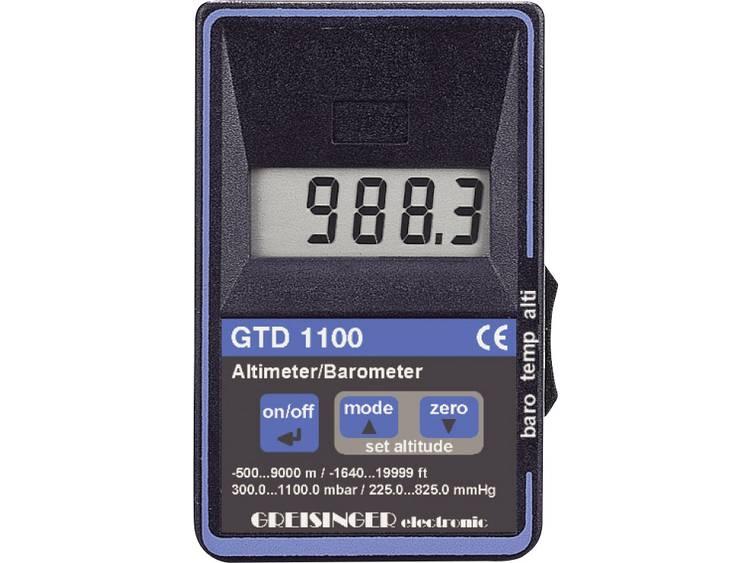 Gasdrukmeter Greisinger GTD 1100 Luchtdruk 0.3 1.1 bar Met hoogtemeter