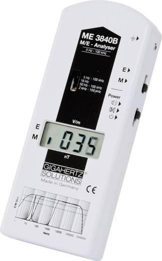Gigahertz Solutions ME 3840B Lage frequentie (LF)-meter 5 Hz - 100 kHz, - 2dB (standaard voor bouwbiometrische meettechn