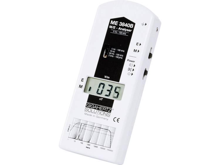 Gigahertz Solutions ME 3840B Lage frequentie LF meter 5 Hz 100 kHz 2dB s