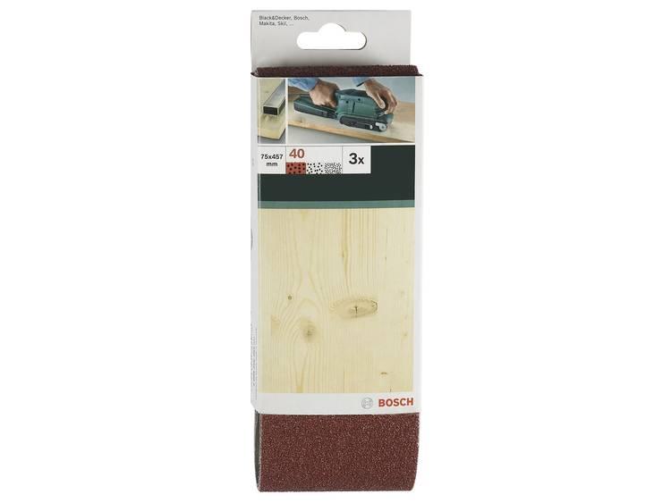 Bosch 3-dlg. Schuurband-Set G150