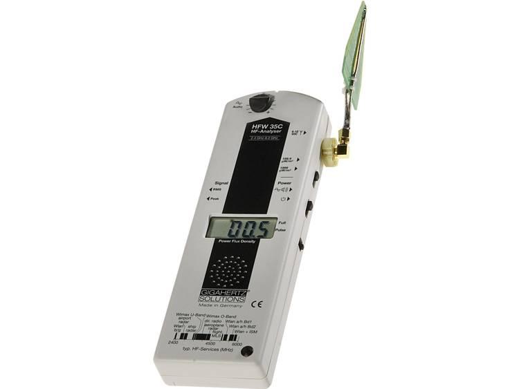 Gigahertz Solutions HFW 35C Hoogfrequent HF meter 24 tot en met 6 GHz o.a. WL