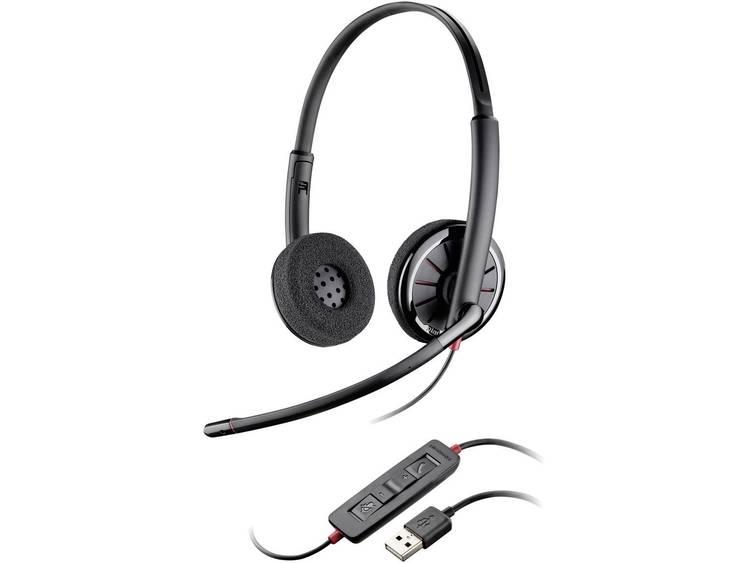 Plantronics Blackwire C320-M USB Telefoonheadset Zwart