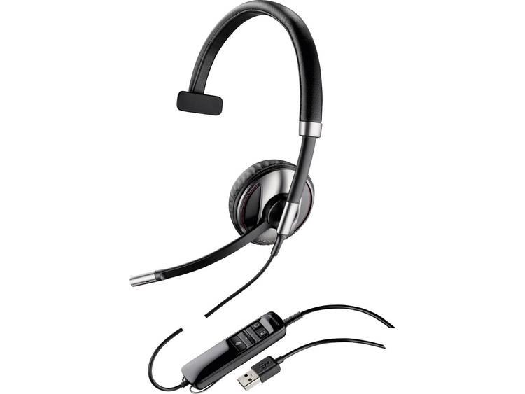 Plantronics Blackwire C710-M USB Telefoonheadset Zwart, Zilver