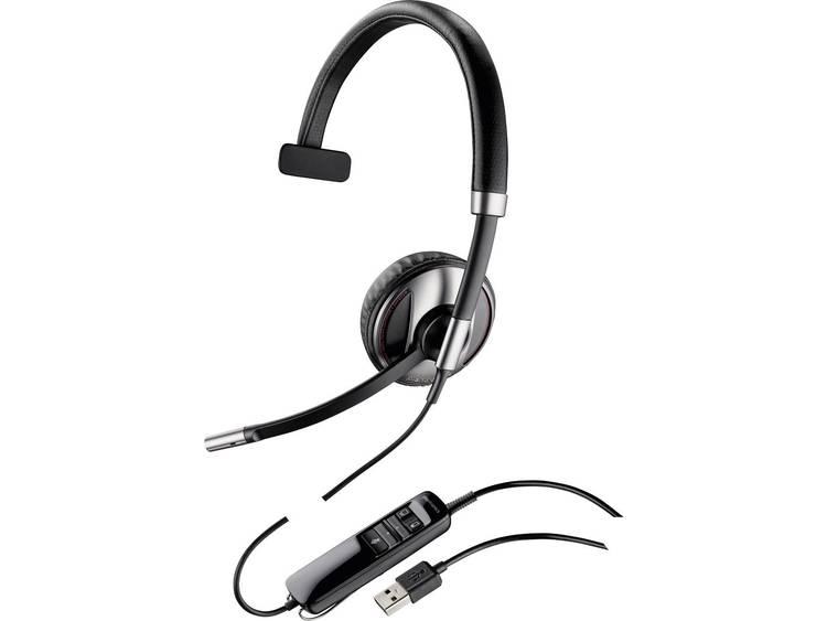 Plantronics Blackwire C710 USB Telefoonheadset Zwart, Zilver