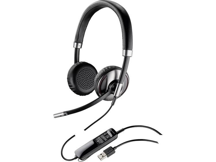 Plantronics Blackwire C720 USB Telefoonheadset Zwart, Zilver