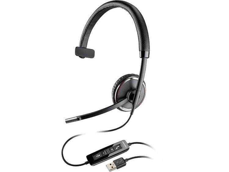 Plantronics Blackwire C510-M USB Telefoonheadset Zwart, Zilver