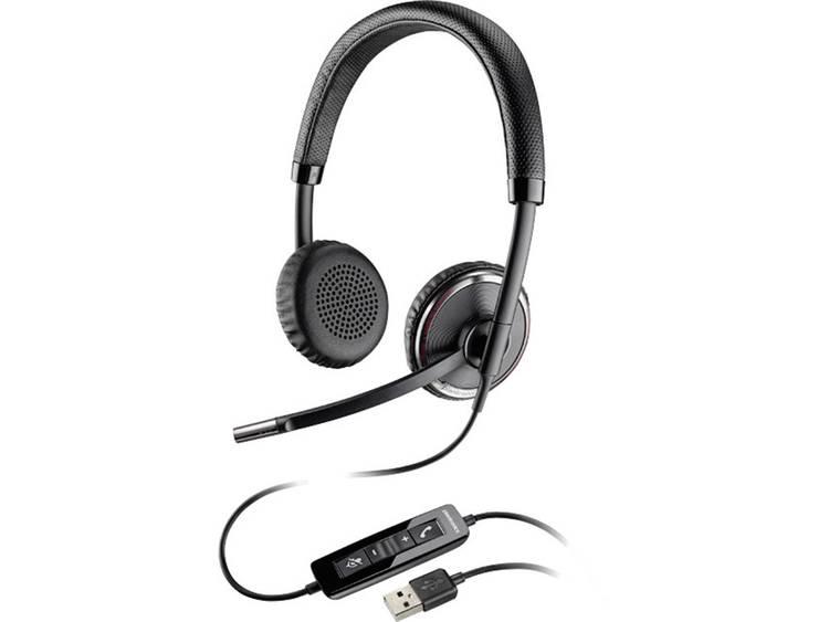 Plantronics Blackwire C520 USB Telefoonheadset Zwart, Zilver