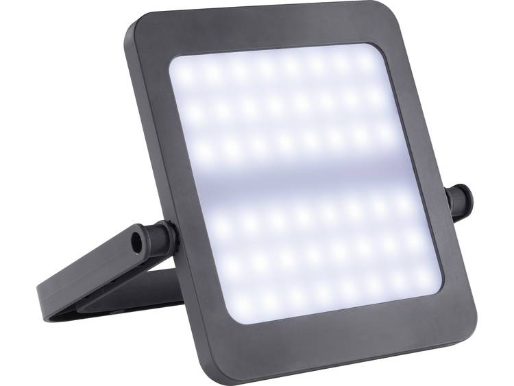 LED Camping-lamp Renkforce Sunpad Werkt op zonne-energie Zwart 97001c48