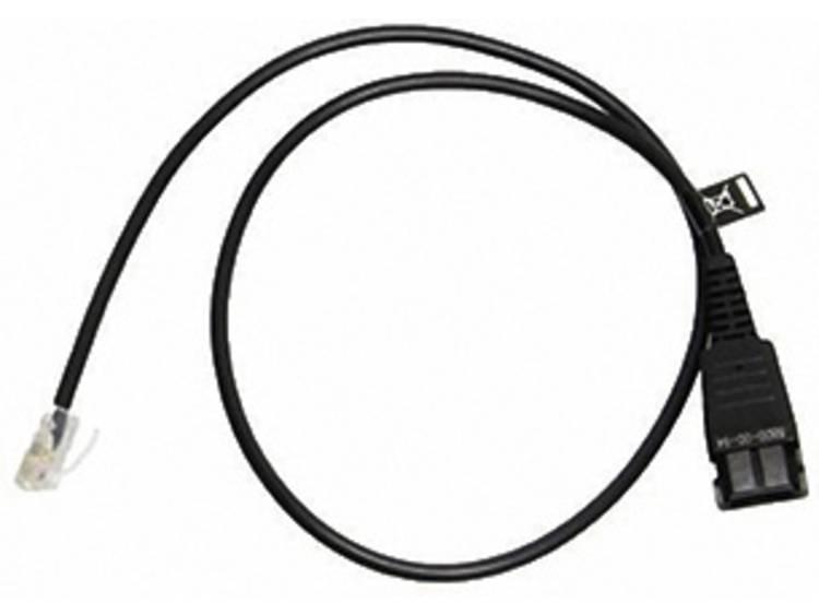Telefoonheadset kabel 8800-00-94 0.50 m Zwart