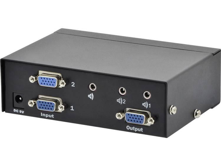 Digitus Professional DS 44100 1 2 poorten VGA switch 1920 x 1080 pix