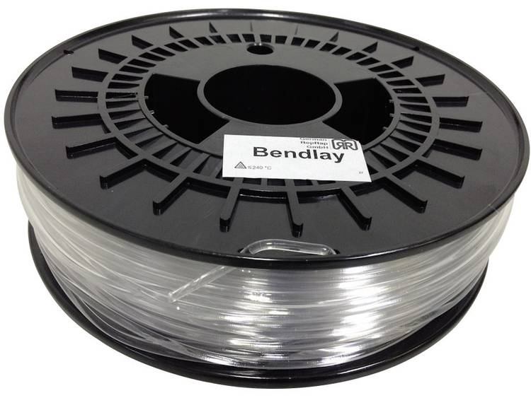 German RepRap 3 mm Bendlay kunststof Filament Naturel 750 g
