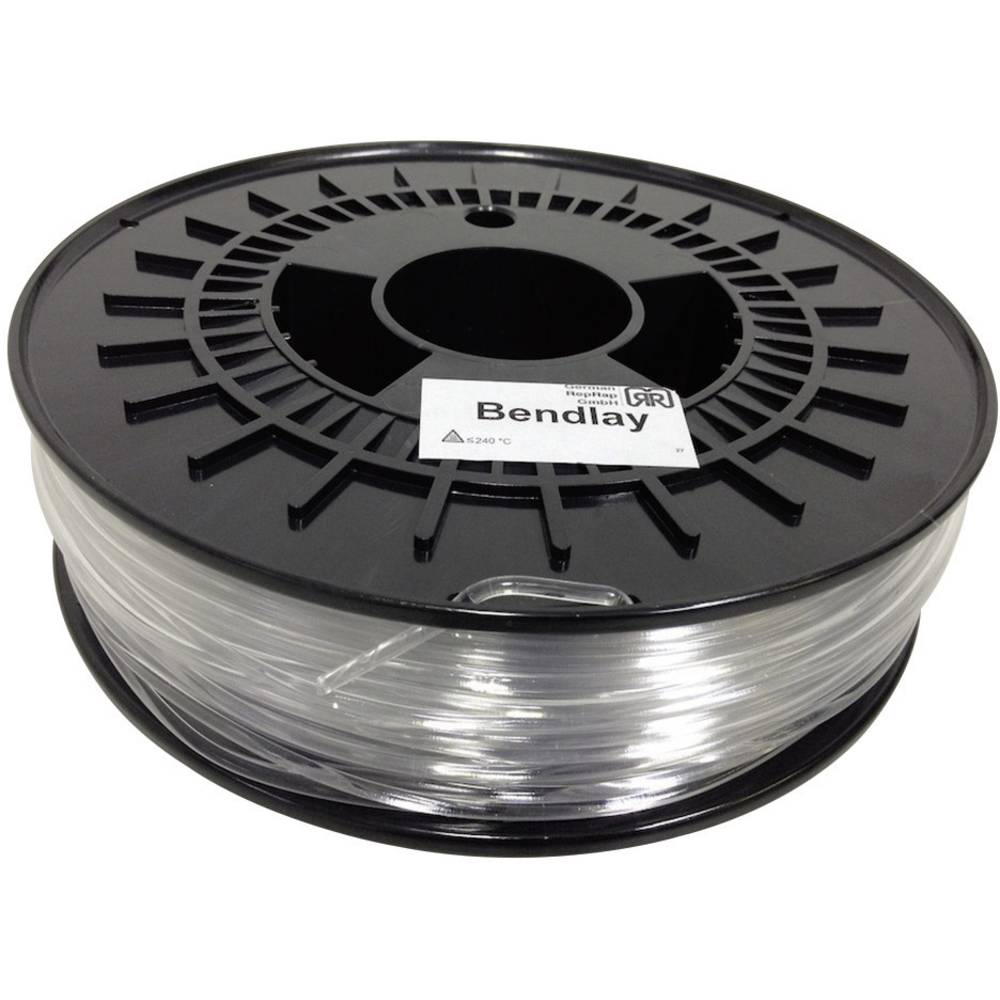 German RepRap 100262 100262 3D-skrivare Filament Bendlay-plast 3 mm 750 g Natur 1 st