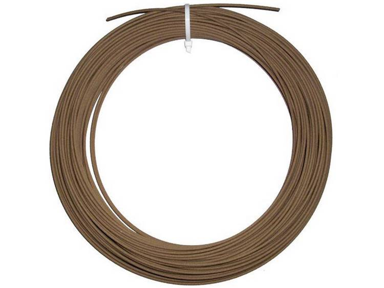 German RepRap 3 mm Laybrick Filament Hout 250 g