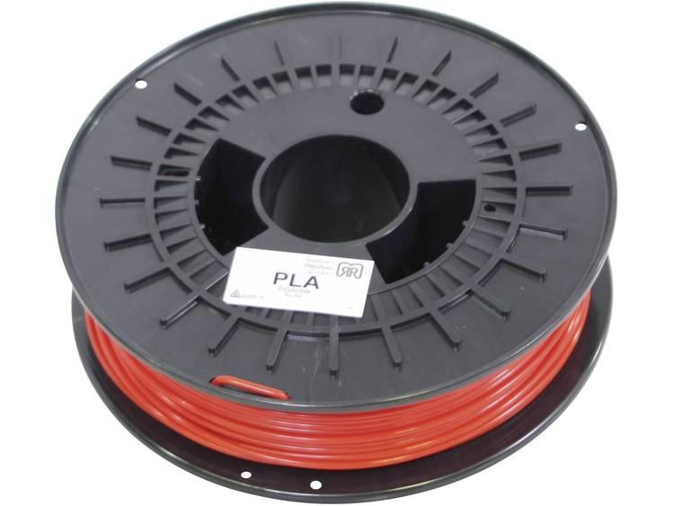 Filament German RepRap 100018 PLA kunststof 3 mm Rood 750 g
