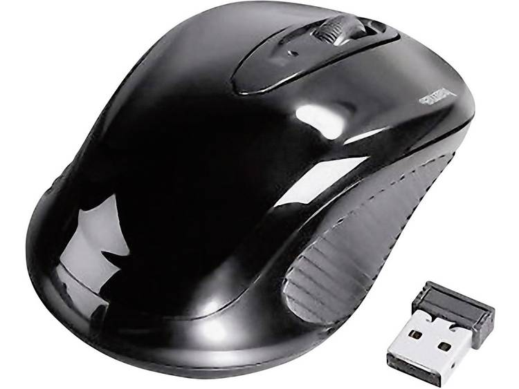 Hama AM-7300 Draadloze muis Optisch Zwart
