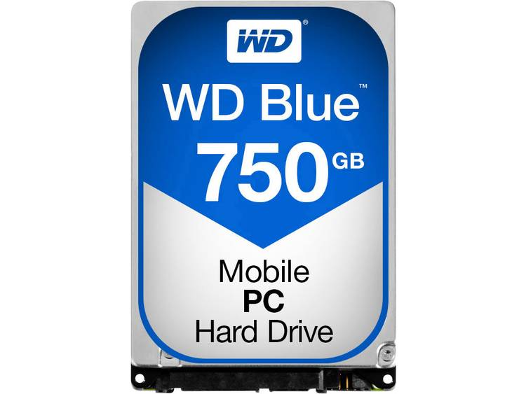 Western Digital Blue⢠Mobile WD7500LPCX 750 GB Harde schijf (2.5 inch) SATA III