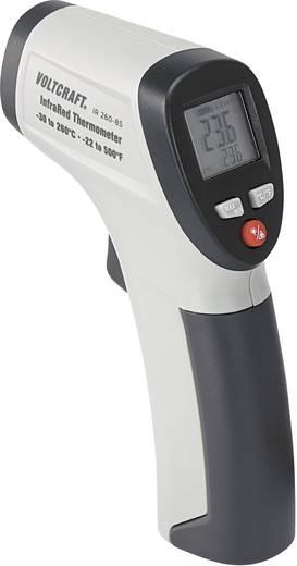 Infrarood-thermometer VOLTCRAFT IR 260-8S Optiek (thermometer) 8:1 -30 tot +260 °C Pyrometer Kalibratie conform: Fabriek
