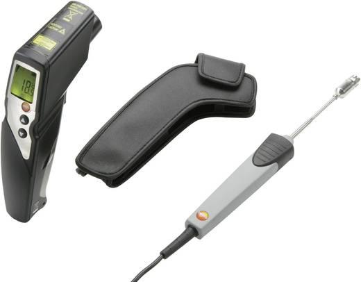 Infrarood-thermometer testo 830 T4 Set Optiek (thermometer) 30:1 -30 tot +400 °C Contactmeting Kalibratie conform: Fabri