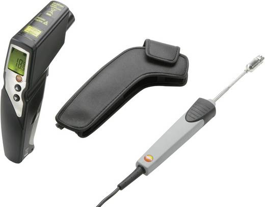 testo 830 T4 set Infrarood-thermometer Optiek (thermometer) 30:1 -30 tot +400 °C Contactmeting