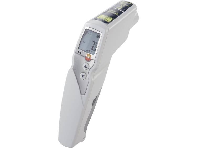 testo 831 Infrarood thermometer Optiek thermometer 301  30 tot +210 °C