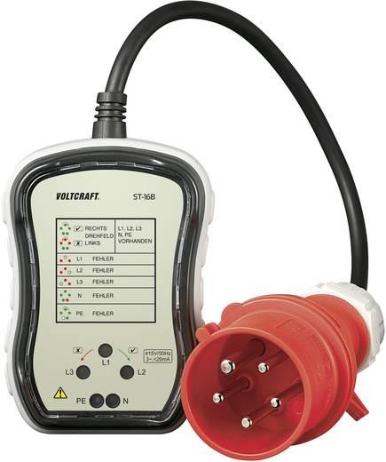 VOLTCRAFT ST-16B stopcontacttester CEE-16A