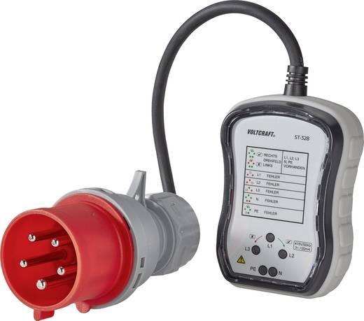 VOLTCRAFT ST-32B stopcontacttester CEE-32A