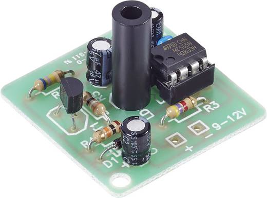 Conrad Components 101133 Flitslicht bouwpakket Uitvoering (bouwpakket/module): Module 9 V/DC, 12 V/DC