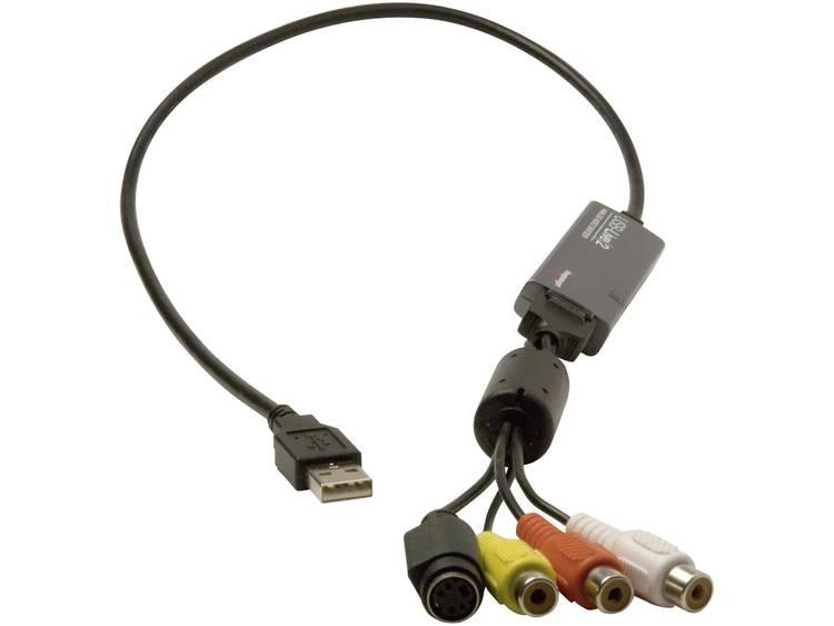 Hauppauge WIN TV USB-Live2 Video Grabber Incl. videobewerkingssoftware, Plug & Play