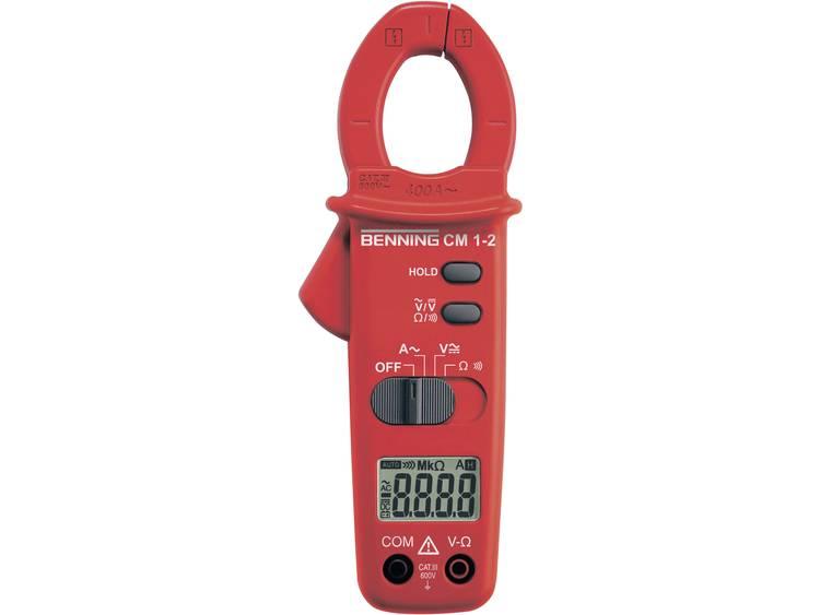 Benning CM 1 2 Stroomtang Multimeter Digitaal Kalibratie conform Fabrieksstand