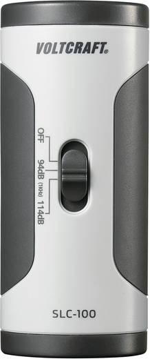 VOLTCRAFT SLC-100 Kalibrator voor het kalibreren van geluidsniveau, decibelmeters en microfoons: 12,7 mm (1/2 inch) Ø