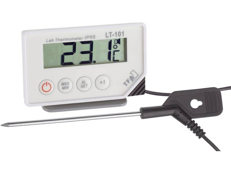 Insteekthermometer TFA LT 101 Meetbereik temperatuur  40 tot +200 °C Sensortype