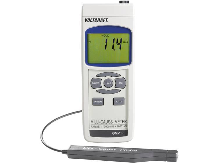 VOLTCRAFT GM-100 Magneetveldtester; Magneetveldanalyse apparaat
