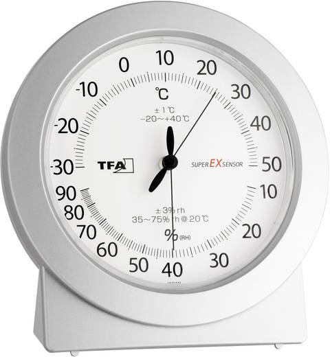 Luchtvochtigheidsmeter (hygrometer) TFA 10 % Hrel