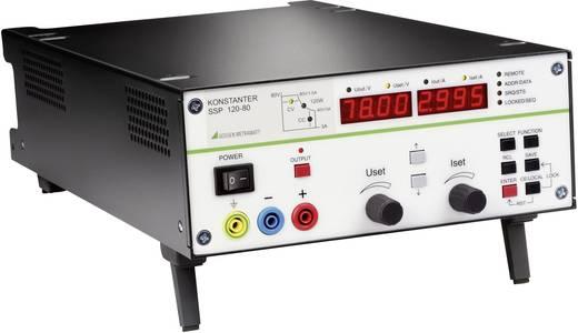 Gossen Metrawatt SSP 120-80 Labvoeding, regelbaar 0 - 80 V/DC 0 - 3 A 120 W RS232 Programmeerbaar Aantal uitgangen 1 x