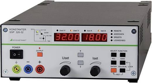 Labvoeding, regelbaar Gossen Metrawatt SSP 320-32 0 - 32 V/DC 0 - 18 A 320 W RS232 Programmeerbaar Aantal uitgangen 1 x