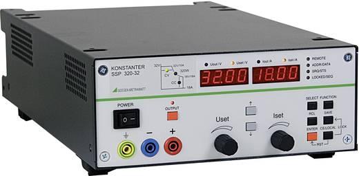 Gossen Metrawatt SSP 320-32 Labvoeding, regelbaar 0 - 32 V/DC 0 - 18 A 320 W RS232 Programmeerbaar Aantal uitgangen 1 x