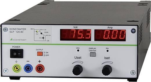 Labvoeding, regelbaar Gossen Metrawatt SLP 120-80 0 - 80 V/DC 0 - 3 A 120 W Aantal uitgangen 1 x