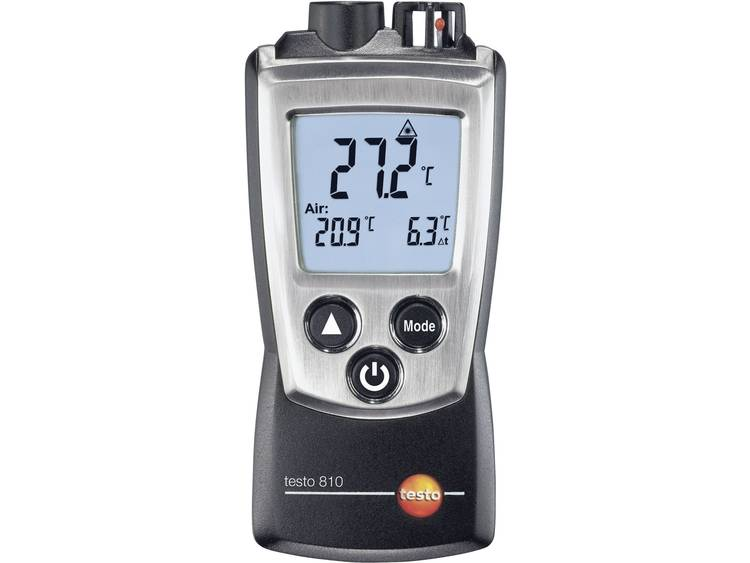 testo 810 Infrarood thermometer Optiek thermometer 61  30 tot +300 °C Contac